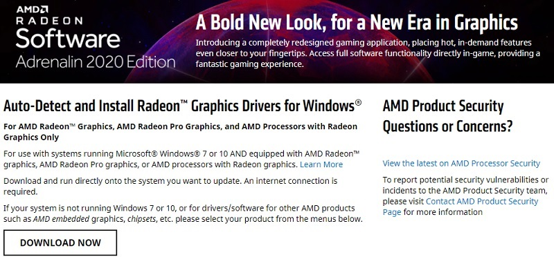 amd website