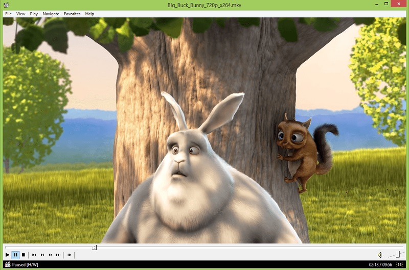 media player classic interface