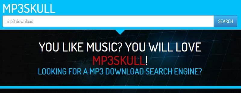 mp3 alternative mp3skull interface