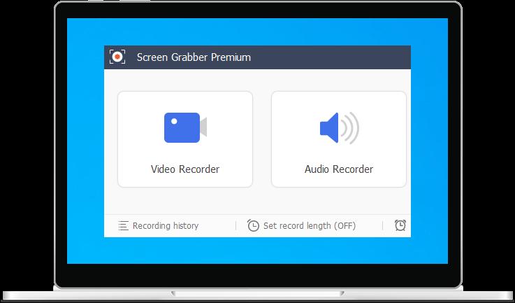 Screen Grabber Premium interface