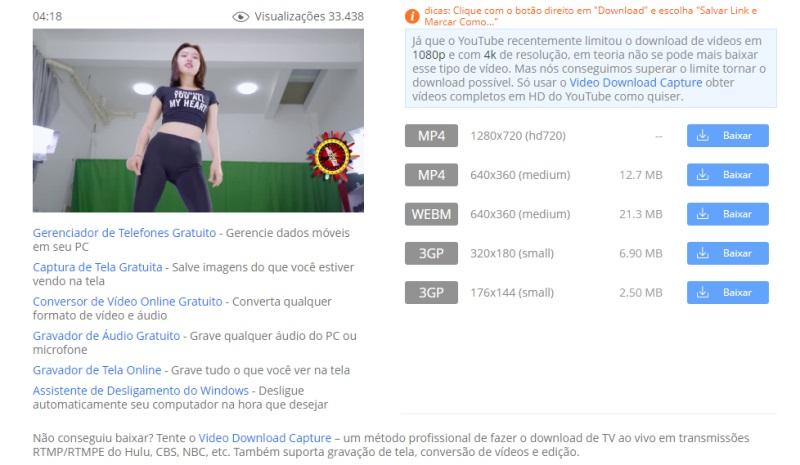 youku formato