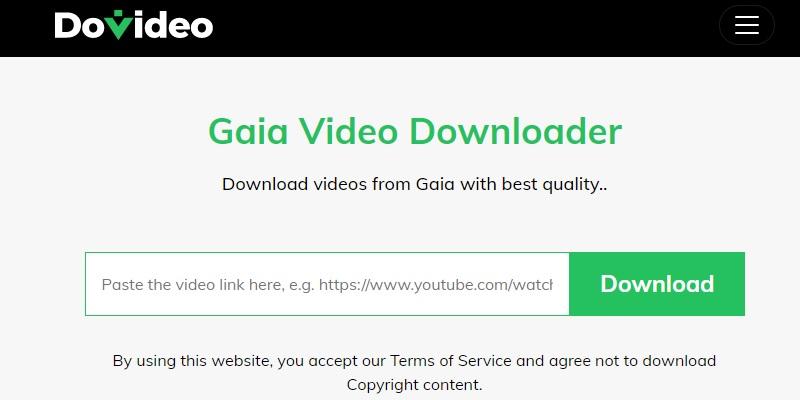 dovideo download gaia