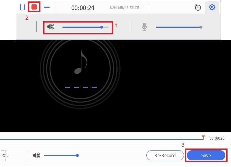 music recorder save voicemail