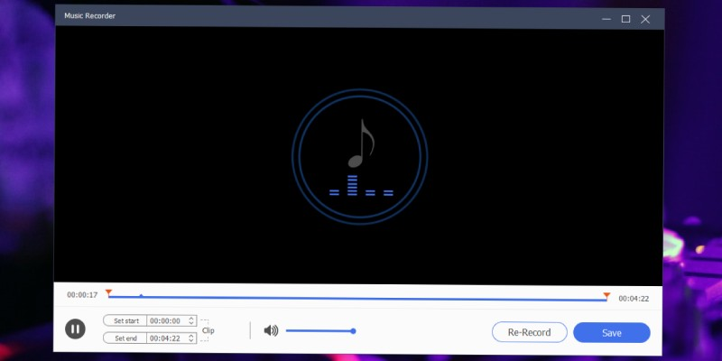 preview and edit audio