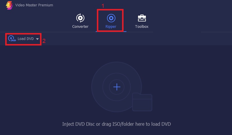 vmpremium load dvd