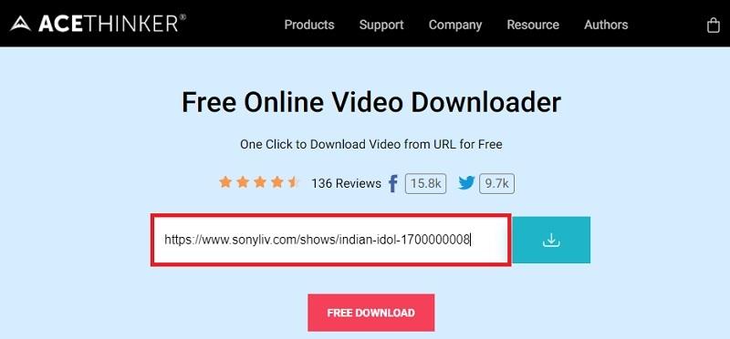 download sonyliv video fvd step2