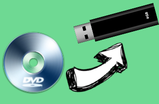 How to Convert Media Files from DVD to USB