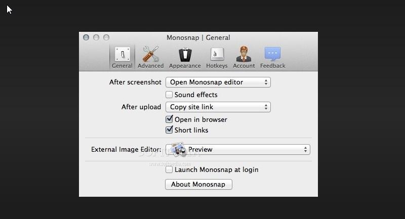 review screencap monosnap