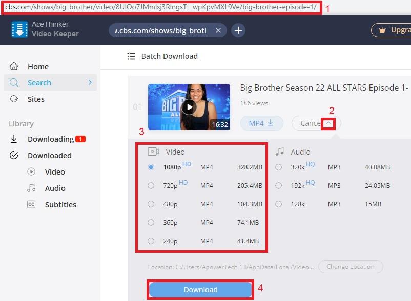 vk download cbs