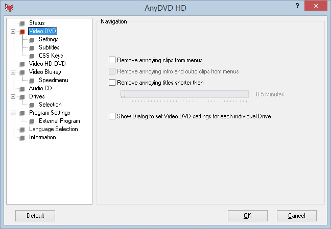 anydvd interface