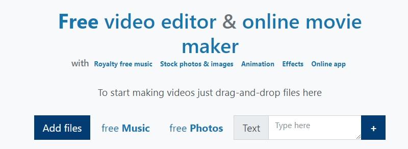 interface movie maker online