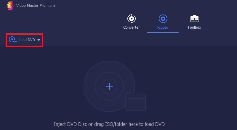 vmp load dvd step3