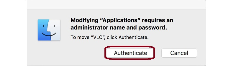 authenticate step