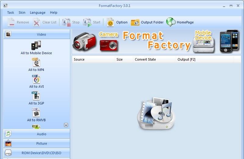 beste kostenlose Windows DVD Ripper Format Fabrik