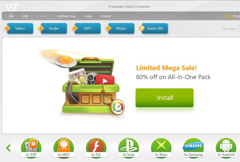 beste kostenlose Windows DVD Ripper Freemake