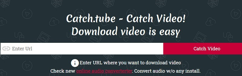 catchtube interface