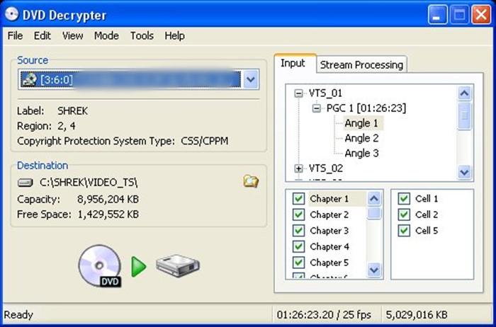 dvd decrypter decrypt dvd