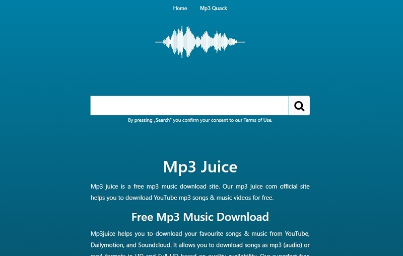 mp3juice main page
