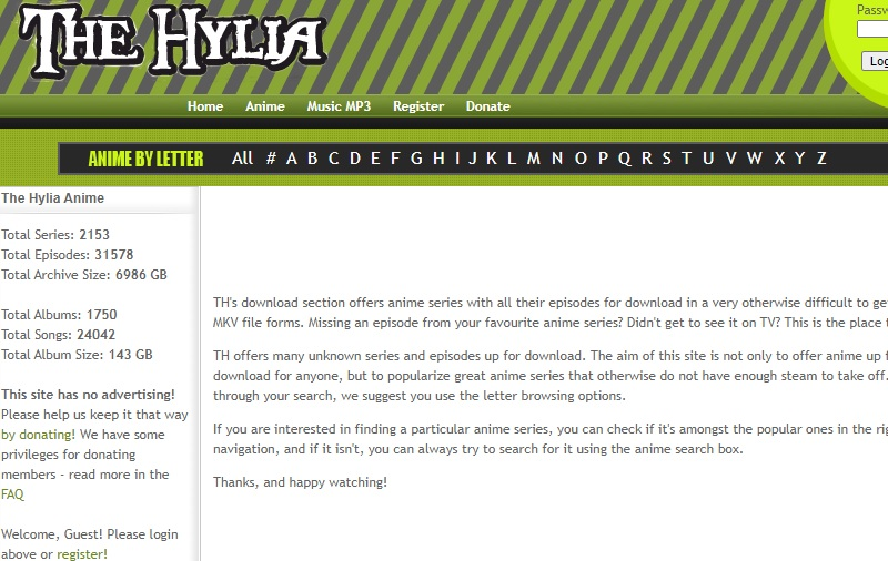the hylia interface