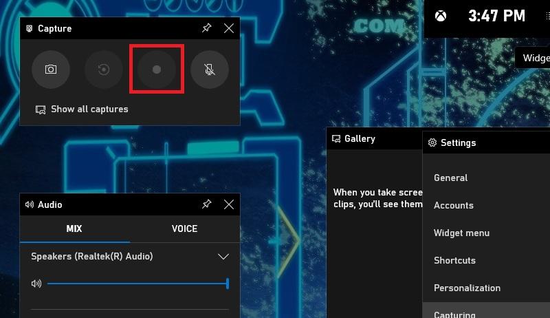 windows10 gamebar step2