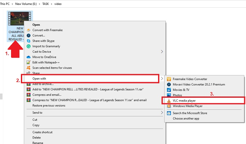 youtube to vlc vk step3