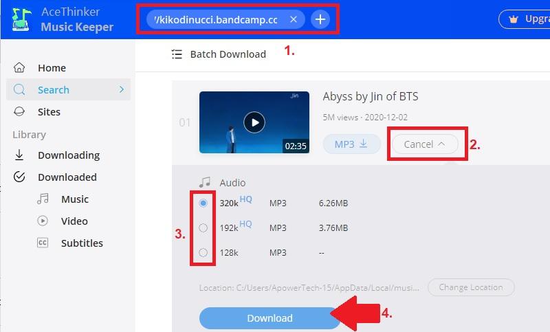 download bandcamp mk step2