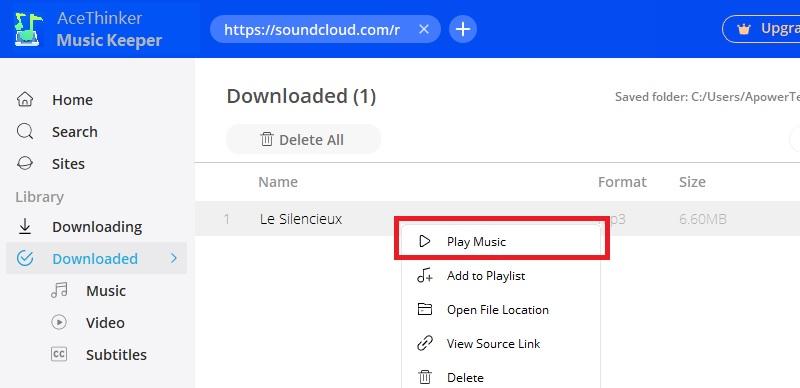 download soundcloud mk step3