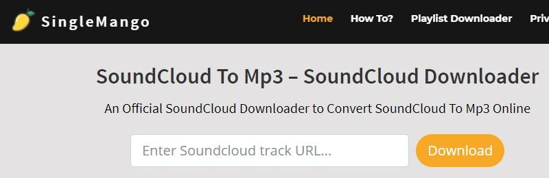 download soundcloud singlemango