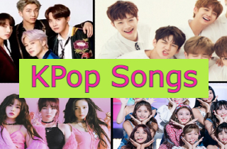 feature kpop song