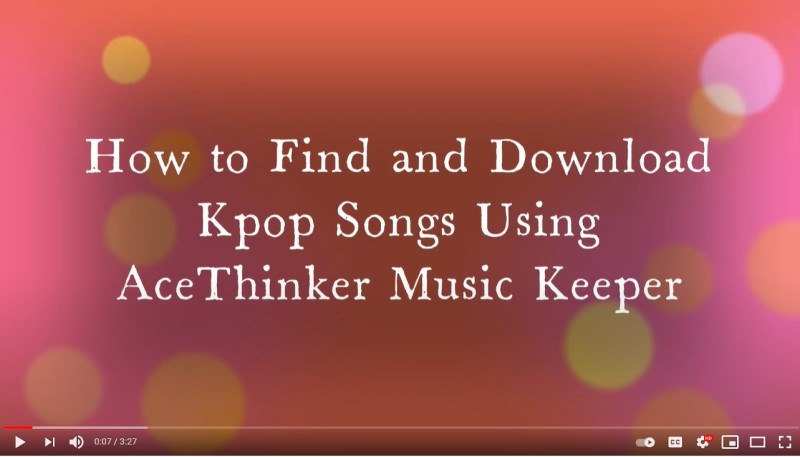 find kpop songs