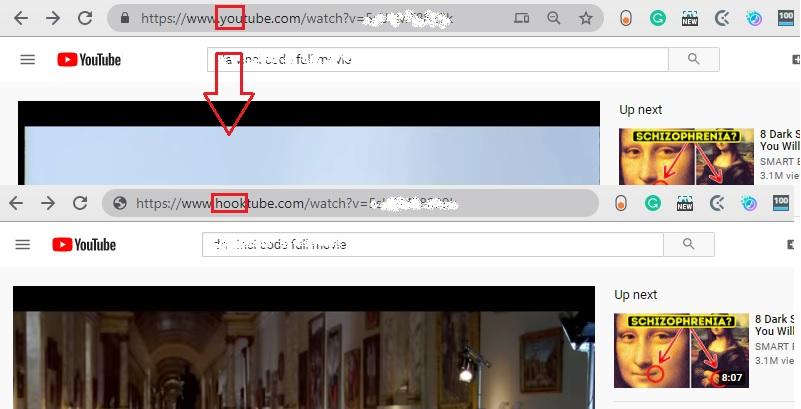 watch-blocked youtube videos hooktube