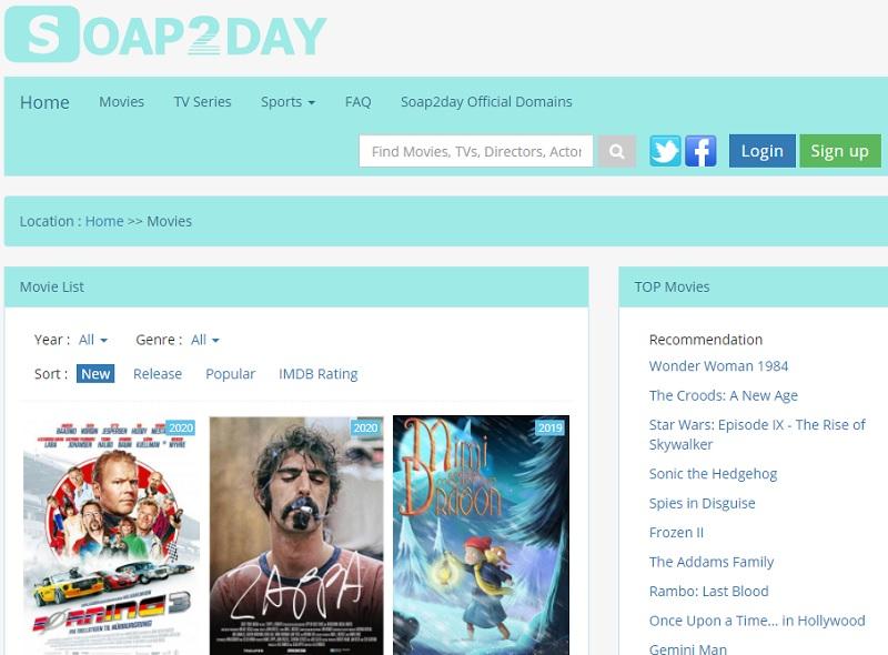 Best-Movies-Sites keine Anmeldung soap2day