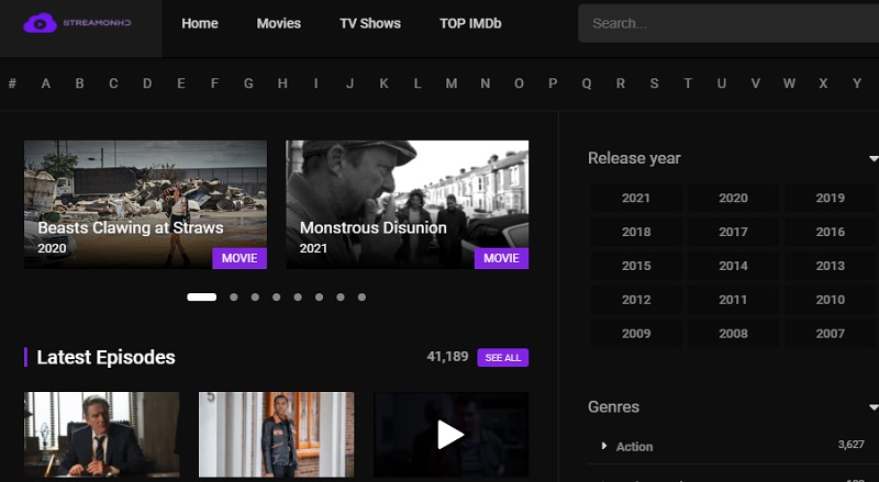 best movies sites no signup streamonhd