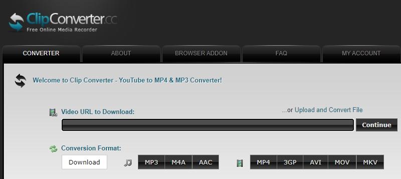 convert2mp3 alternatives clipconverter