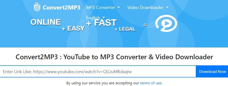 convert2mp3 alternatives step1
