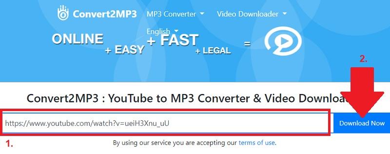convert2mp3 alternatives step2