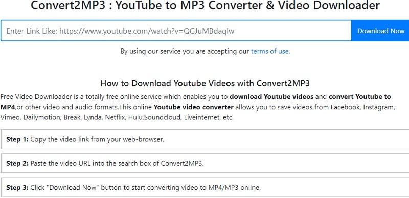 convert2mp3 alternatives