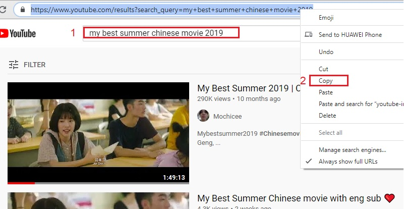 download chinese movie step 2