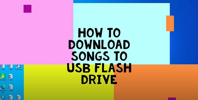 download songs to usb