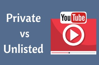 youtube unlisted vs private