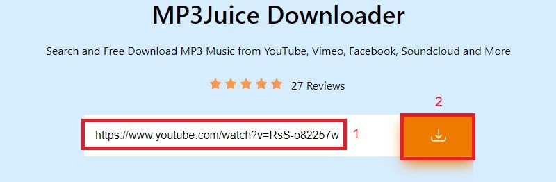 mp3juice einfügen youtube link