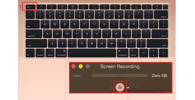 Verwenden Sie die Tastatur