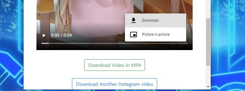 download ig private downloadinstagramvideo step2