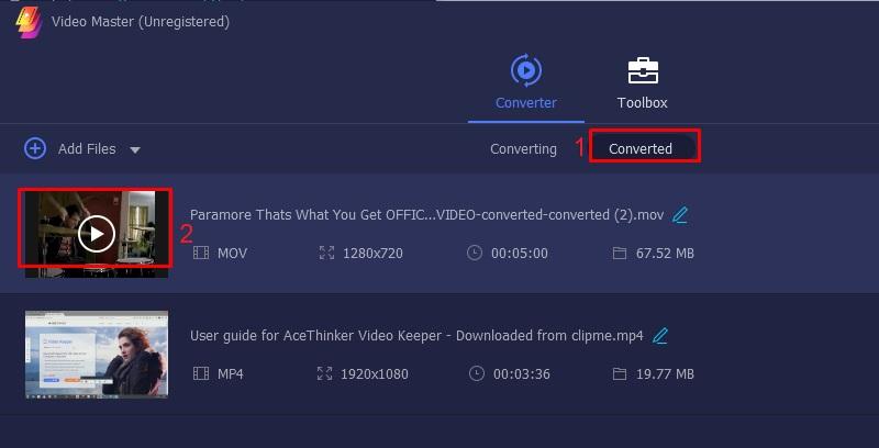 vlc merge video vlc step 5