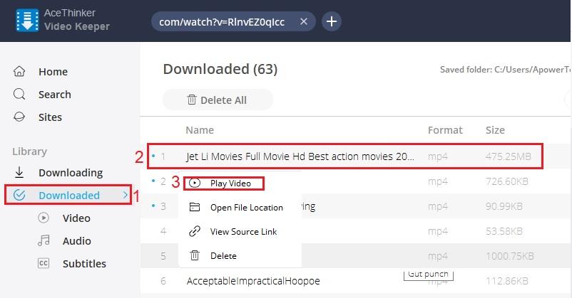 download jet li movies vk step 5