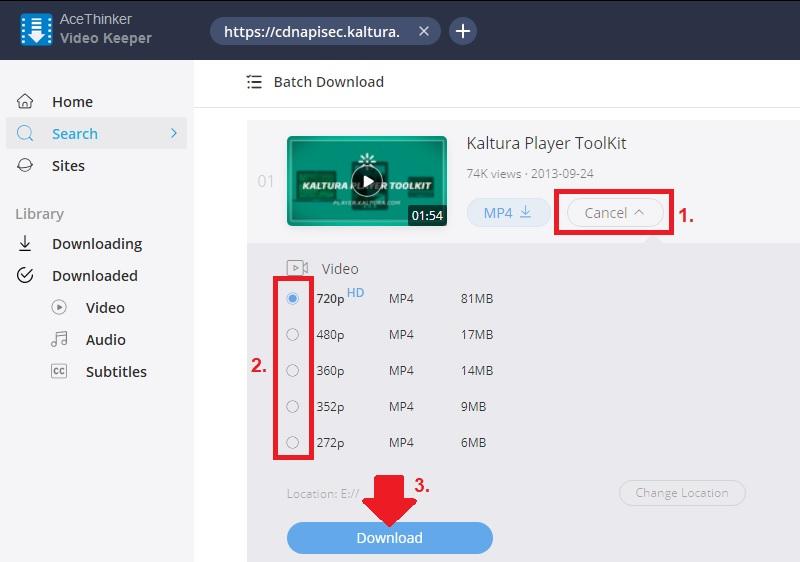 download kaltura vk step3