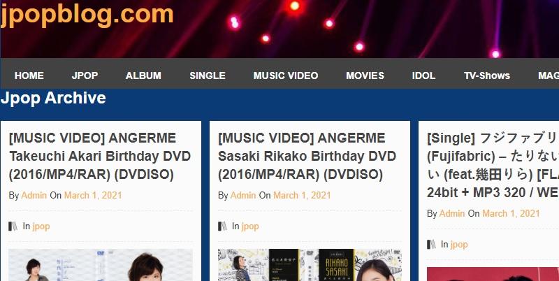jpopblog download japanese music