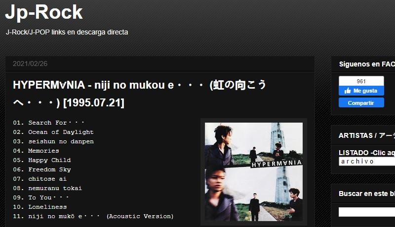 jprock download japanese music