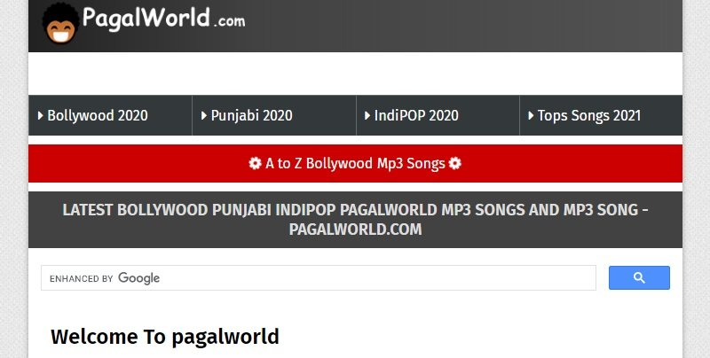 pagalworld interface