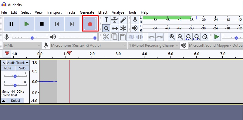 record system audio and microphone music recorder audacity